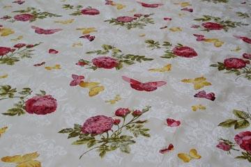 Stoffe der Bettwäsche