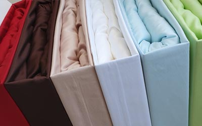 Satin coverlets